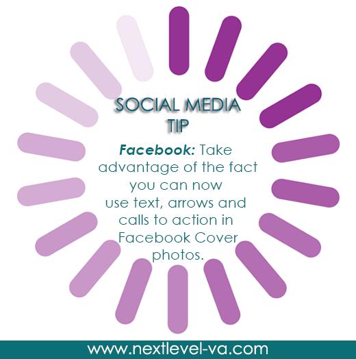 Social Media Tip of the Day:  Facebook