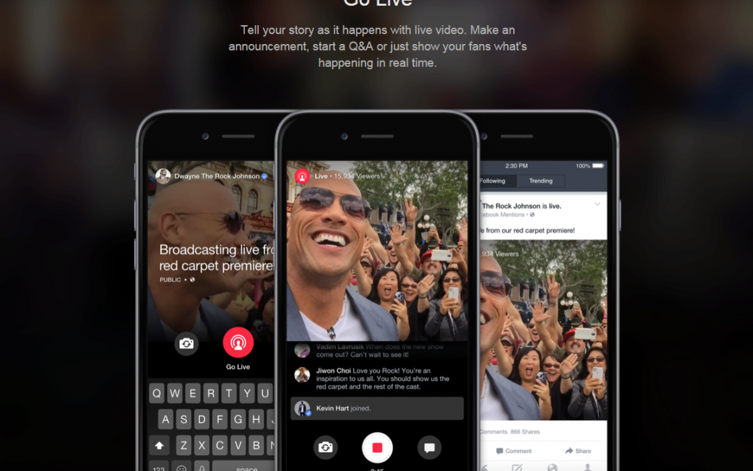 Have You Heard About Facebook Live?