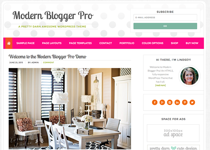 How to Make a Landing Page in Modern Blogger Pro Without Pulling Your Hair Out
