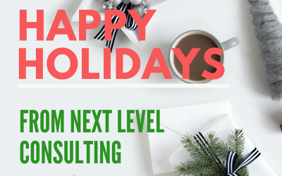 Happy Holidays from Next Level Consulting