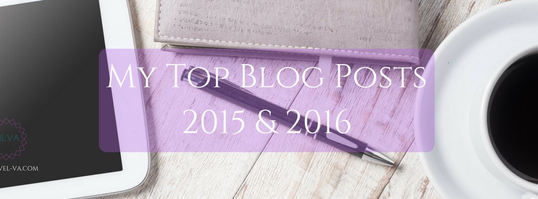 My Top Blog Posts from 2015 & 2016